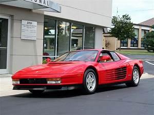 Ferrari Testarossa Workshop And Owners Manual