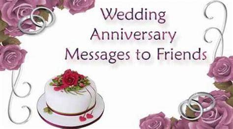 wedding anniversary messages  friends