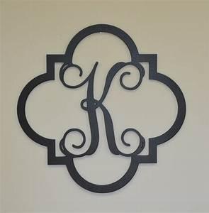 wooden monogram initials monogram door hanger wooden With wood monogram letters for door