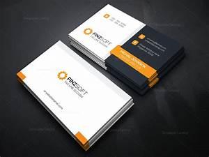 Modern business card design template 000155 template catalog for Modern business card templates