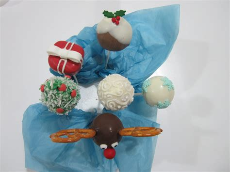 christmas cake pops cake decorating queen