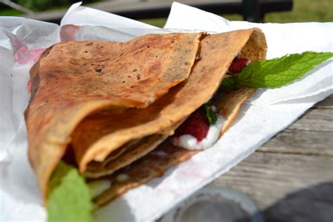 cuisine boheme food la boheme creperie crepes at trout lake