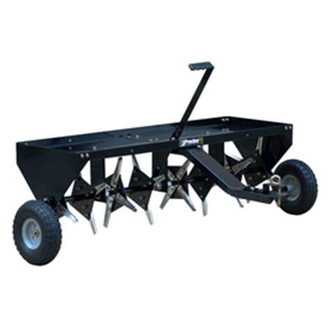 shop blue hawk   plug lawn aerator  lowescom