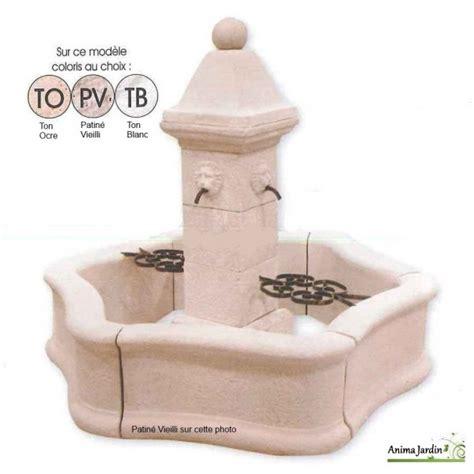 fontaine bassin de jardin en reconstitu 233 e provence avec grille achat vente