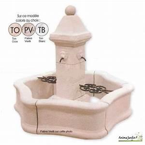 Fontaine De Jardin Jardiland : fontaine bassin de jardin en pierre reconstitu e ~ Melissatoandfro.com Idées de Décoration