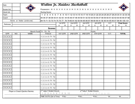 Word Template Of Basketball Court New Calendar Template Site Printable Basketball Stat Sheet New Calendar Template Site