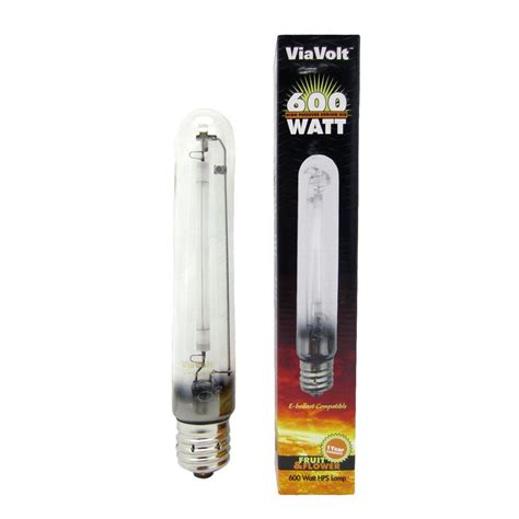 highest watt light bulb viavolt 600 watt high pressure sodium replacement hid