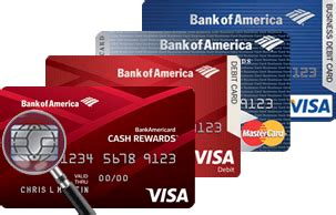 bank of america debit card designs emv chip card technology information from bank of america