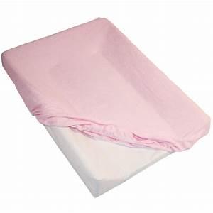 Housse Pour Matelas : housse pour matelas langer rose de babycalin sur allob b ~ Melissatoandfro.com Idées de Décoration