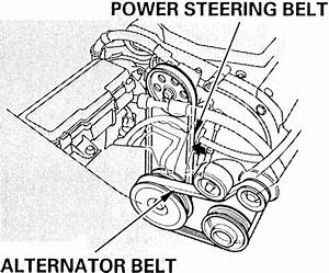 2006 Honda Odyssey Serpentine Belt Diagram