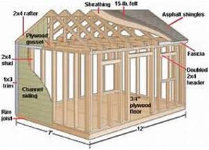Patric: Download 12 x 12 wood shed plans