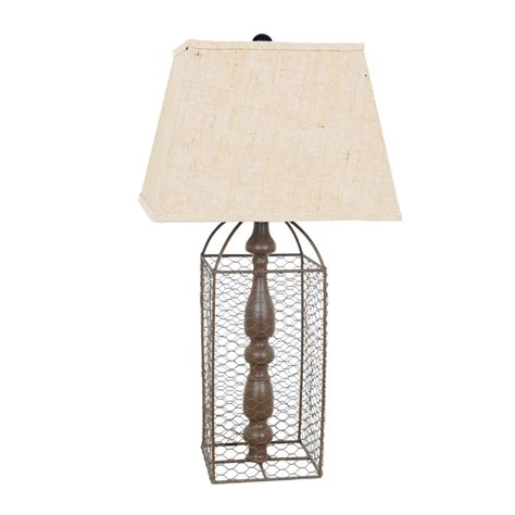 two e vintage rustic chicken wire cage coop style table