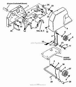 Snapper I4223 22 U0026quot  4 Hp Two Stage Intermediate Snow Thrower Series 3 Parts Diagram For Engine