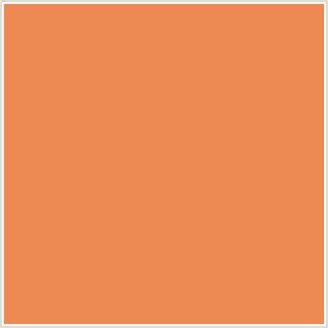 what color matches burnt orange ed8953 hex color rgb 237 137 83 burnt sienna orange red