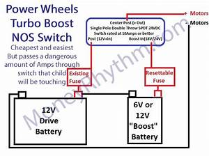 Diy Power Wheels Turbo Button Basic  Better  And Advanced