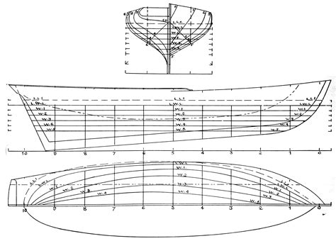 Boat Drawing Lines by Fitz Henry Vessel Types Historical Materials