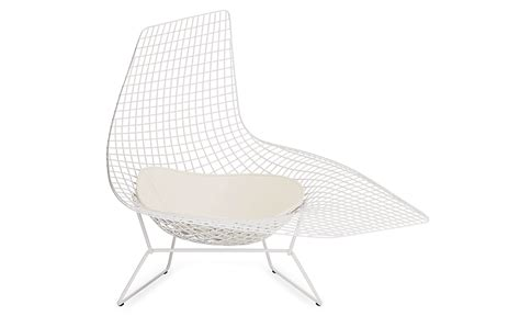 bertoia chaise bertoia asymmetric chaise design within reach