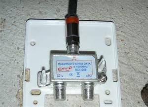 Branchement Cable Antenne Tv : cable pourquoi l 39 installateur met des prises vissantes ~ Dailycaller-alerts.com Idées de Décoration