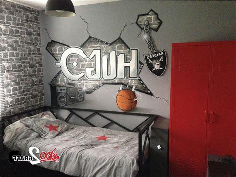 chambre deco décoration chambre ado urbain