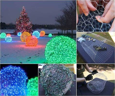 55 creative diy christmas outdoor lighting ideas that you