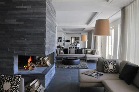 Modernes Wohnzimmer Grau by Wohnzimmer Grau In 55 Beispielen Erfahren Wie Das Geht