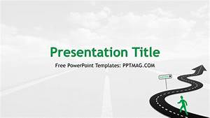 Road To Success Powerpoint Template - Gavea.info