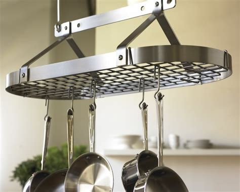 Enclume Traditional Oval Ceiling Pot Rack