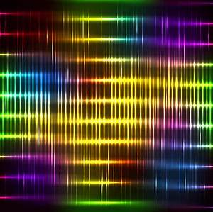 Bright neon light art background vector set Free vector in