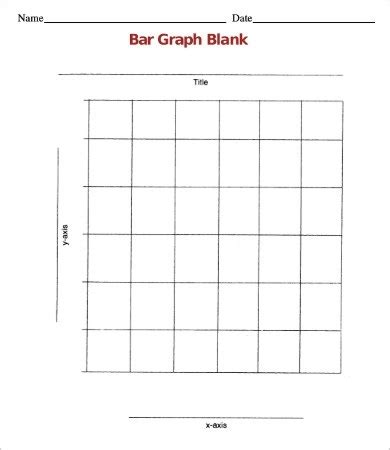 simple blank bar graph world  printables
