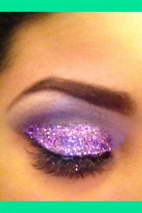 loose purple glitter eyeshadow coco ss cocoshaay