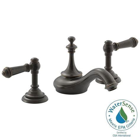 home depot kohler artifacts kitchen faucet kohler artifacts 8 in widespread 2 handle tea design