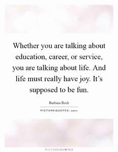 Whether you are... Vocational Service Quotes