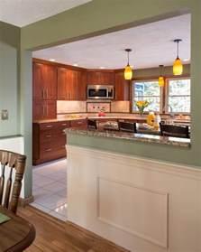 kitchen half wall ideas best 25 half wall kitchen ideas on