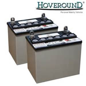 electric wheelchair battery information hoveround