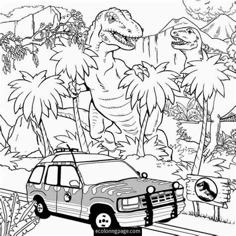 Dinosaurus Kleurplaat Jurrasic World by Jurassic World T Rex Indominus Rex Coloring Page