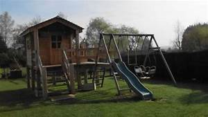 Portique Bois Pas Cher : fabriquer une cabane en bois pas cher ~ Premium-room.com Idées de Décoration