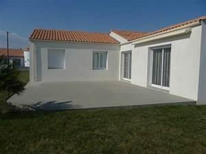 ma terrasse en beton With marvelous decoration exterieur pour jardin 14 deco salon home staging