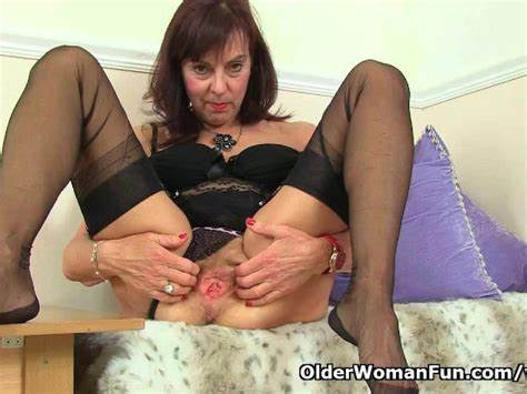 Euro Brunette Joi In Layered Nylons Spanish Granny Georgie Nylons Fuck Other With A Strapon