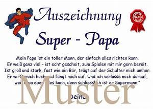 Danke Papa Text : urkunde bester papa super papa a4 weihnachten a4 von aus liebe wird papier auf ~ Watch28wear.com Haus und Dekorationen