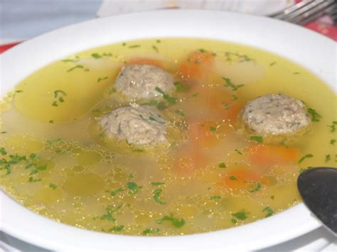 north croatian liver dumplings  soup recipe genius