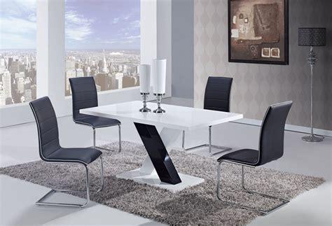 global furniture usa  dining set white high gloss mdf