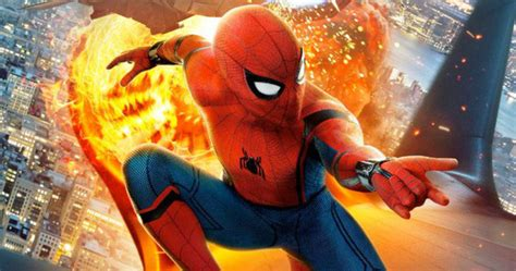 spider man   home set photo teases trouble
