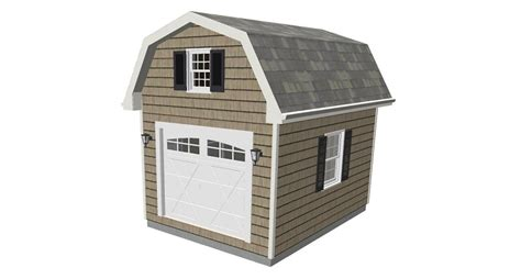 free 10x12 shed plans with loft 16 x 12 shed plans asplan