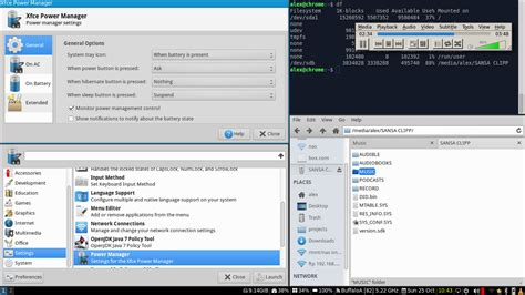 alex s using the i3 tiling window manager with xfce services