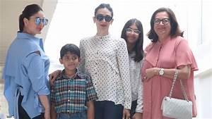 Kareena & Karishma Kapoor Spotted At Bandra With Her Mom ...
