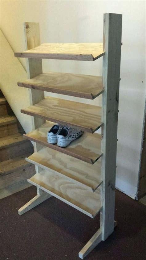 wood shoe rack ideas woodworkinghrs
