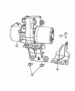 Dodge Durango Bracket  Power Steering Pump