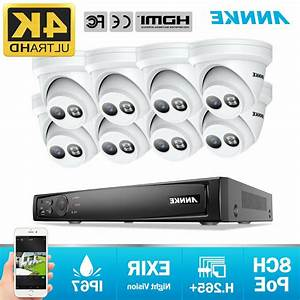 Annke Ultra Hd 8mp Security Poe System 8ch
