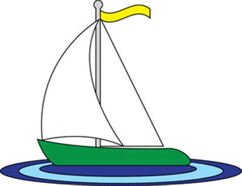 Toy Boat Outline by Free Sailboat Clipart Pictures Clipartix