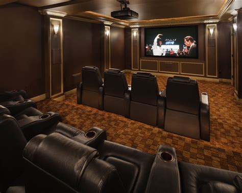 modern marvel traditional home theater  york